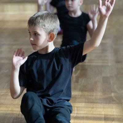 Junge Gymnastik