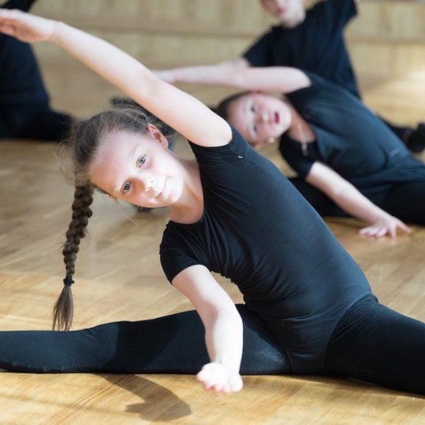 Mädchen Gymnastik Kopie