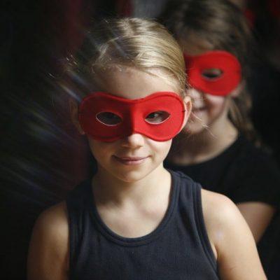 Mädchen Maske